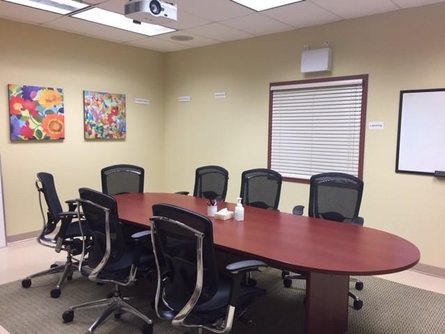 Group room in the HOPE program
