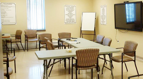 Group room at the Grace Centre