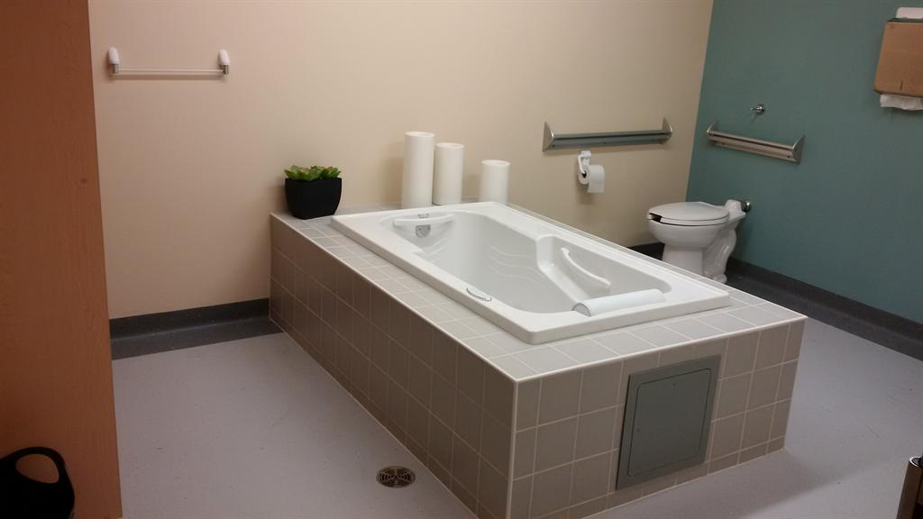 Jacuzzi tub room at the Grace Centre