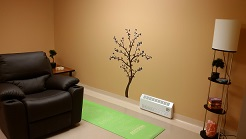 The meditation room at the Grace Centre